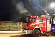 Andria – Incendio all'interno dell'Istituto Colasanto. Necessari tre mezzo per spegnere le fiamme