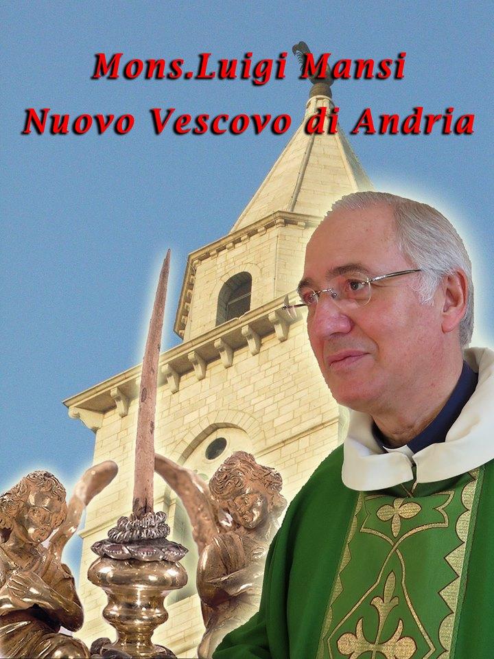 Andria mons luigi mansi nuovo vescovo della diocesi for Nuovo arredo andria