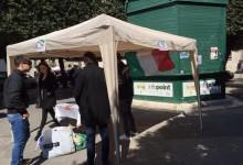 """Trani – Gioventù Nazionale in piazza per la raccolta di indumenti per la Caritas, Lampidecchia: """"Un successo in linea con le aspettative"""""""