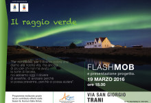 """Trani – Progetto """"Il Raggio Verde"""": flash mob per sensibilizzare"""