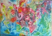 Arte andriese a Trento: espone la pittrice Maria Sellitri