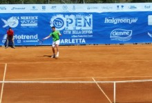 Barletta – Tennis ATP: Pochi sorrisi per i pugliesi