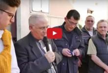 Andria – Scambio Auguri dell'Amministrazione con il Vescovo