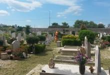 Trani – Cimitero Comunale: ripresi i lavori di mautenzione