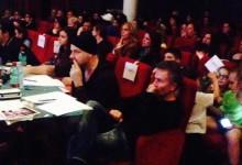 Al teatro Impero, Raffaele Paganini osserva giovani danzatori