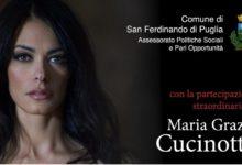 San Ferdinando di Puglia – Maria Grazia Cucinotta insieme per dire no al femminicidio