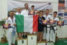 FTaekwondo, argento e bronzo agli Europei per la Federico II di Svevia Barletta