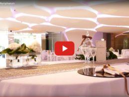 La purezza e il profumo dei fiori: Un concept tutto nuovo per la Sala Ricevimenti Nymphaeum