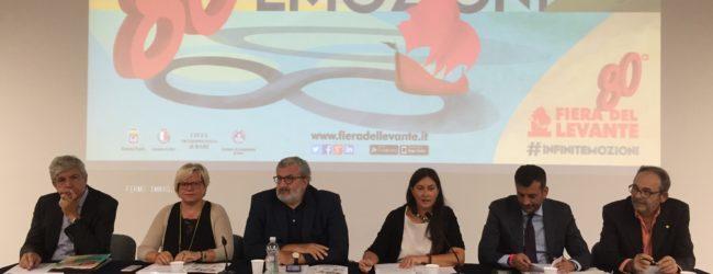 Bari – Presentazione 80^ edizione della Fiera del Levante