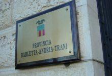 Consiglio provinciale: approvata la convenzione con il Comune di Bisceglie per il Servizio Finanziario