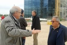 Bari – Loizzo visita cantieri sede Consiglio regionale