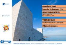 Trani – Domenica al Museo: ingresso gratuito al Castello