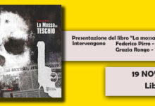 """Andria – """"La Mossa del Teschio"""" di Federico Pirro. LiberaMente – Dialoghi sulla contemporaneità."""