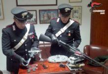 Andria – In possesso di pistola clandestina e centraline rubate. Arrestato 49enne