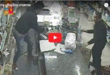 Andria – Rapina ai danni di un minimarket in via Giulio Cesare, arrestato 31enne andriese. Video