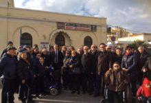 """Bisceglie – Protesta abbattimento barriere architettoniche stazione, Spina: """"Battaglia di civiltà"""""""