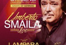 Trani – Sabato 7 gennaio a La Lampara ritorna Umberto Smaila
