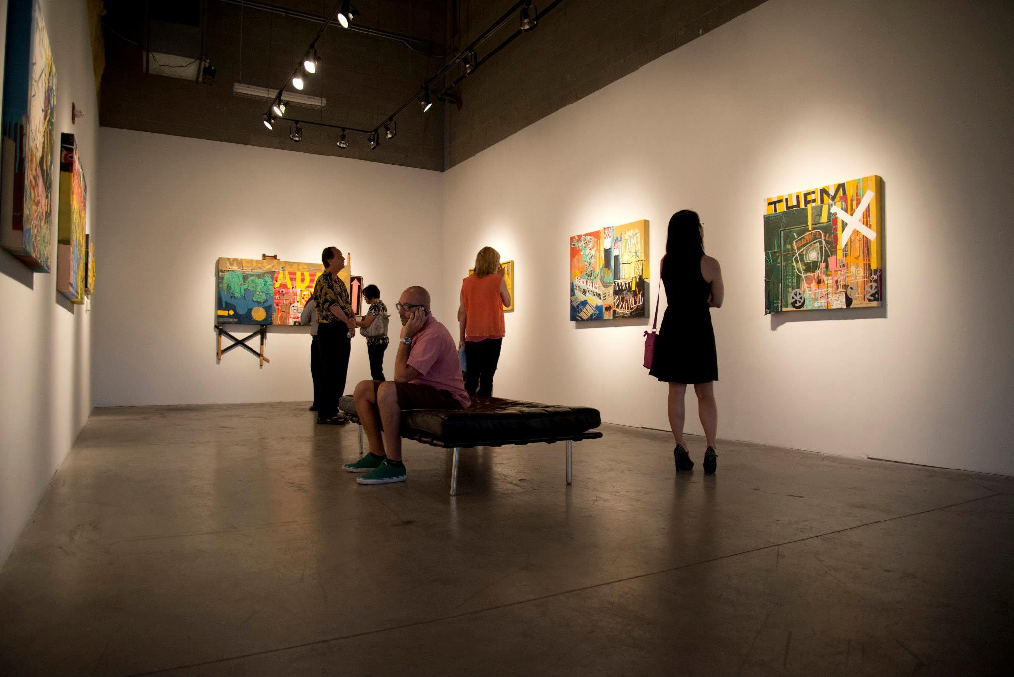 The art galleries
