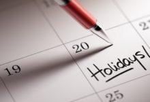 Tutti i ponti del 2017: quando partire in vacanza?