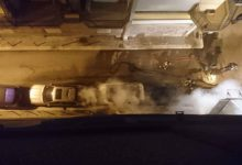 Trani – Fuoco nella notte: incendiate tre auto in via San Gervasio