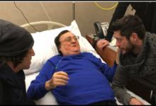Il cantante tranese Leone di Lernia grave in ospedale