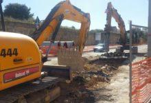 Andria – Lavori in via Bisceglie: caos per disagi e rallentamenti