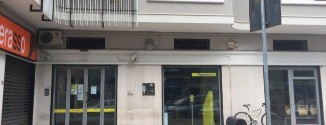 Trani – Rapina all'ufficio postale di corso Manzoni