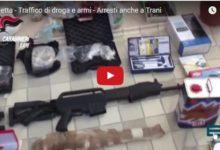 Barletta – Traffico internazionale di droga e armi, arresti anche a Trani