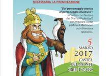 Castel del Monte – Domenica presentazione diari di Federico II a fumetto