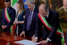 VIDEO – Giorgino firma convenzione per riqualificazione periferie a Palazzo Chigi