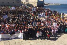 """Trani – In 4 mila marciano per la legalità, Bottaro: """"Sono orgoglioso di essere il vostro sindaco"""""""