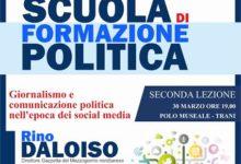 Trani – Scuola di formazione politica: giornalisti a confronto