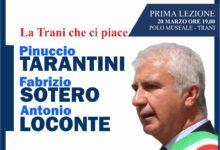 Trani – Scuola di formazione politica: la prima lezione con l'ex sindaco Tarantini