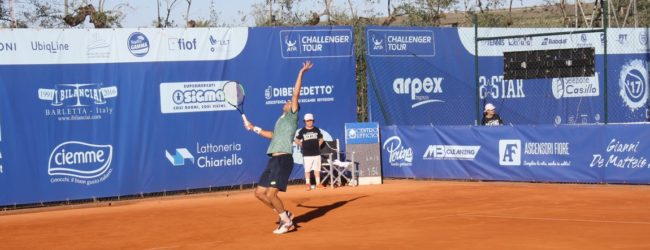 Barletta – Atp, Secondo giorno di qualificazioni: Travaglia e Sonego avanti tra gli Azzurri