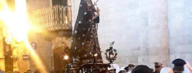 BAT – Le processioni del venerdì santo: Addolorata e Incontro