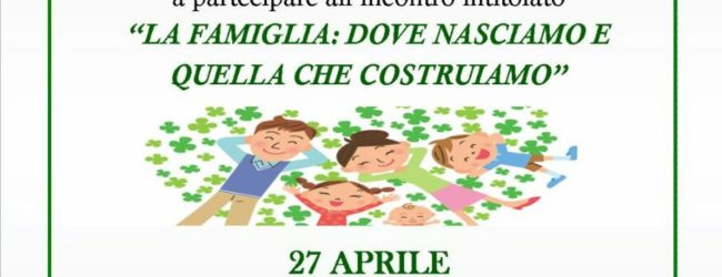 Barletta – Oggi incontro sulla famiglia organizzato dal Coordinamento Donne Acli