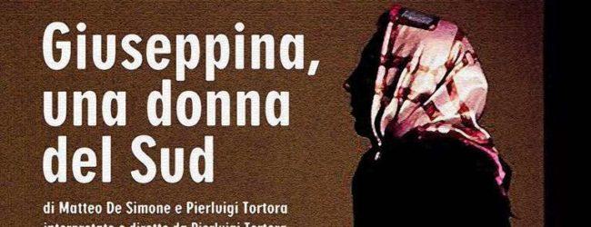 """Trani – Teatro Mimesis, spettacolo """"Giueseppina, una  donna del sud"""""""