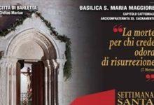 Barletta – Il programma della Settimana Santa