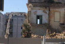 Trani – Iniziati i lavori di demolizione di villa Maggi