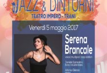 "Trani – ""Jazz & dintorni"": domani Serena Brancale Quartet"