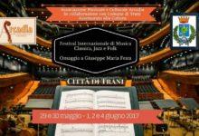 Trani – Festival Internazionale di Musica Classica, Jazz e Folk: il programma della seconda edizione
