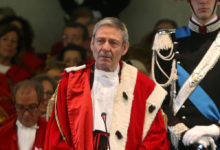 Trani – Primo Presidente Suprema Corte di Cassazione Giovanni Canzio fin visita ordine avvocati