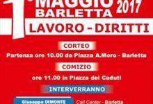 Barletta – Cgil: primo maggio giornata di mobilitazione. Il programma