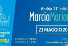 Andria – Domani 11^ edizione della Marcia Mariana. Ci saranno anche i disabili