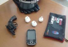 Bisceglie – Arrestata 22enne incensurata. Con se, una pistola clandestina e 30 grammi di cocaina
