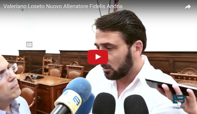 Andria fidelis andria presentato il nuovo allenatore for Nuovo arredo andria