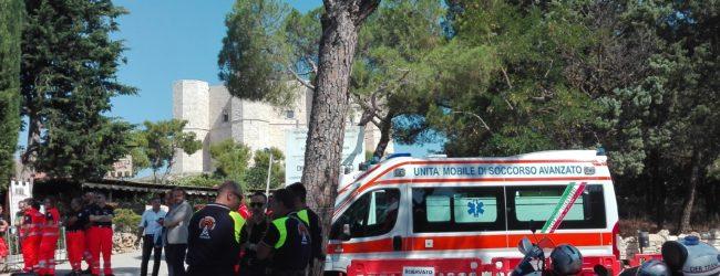 Andria – Primo soccorso a Castel del Monte: fino al 15 ottobre ambulanza attiva tutti i giorni