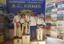 Taekwondo: un oro, un argento e due bronzi per la Fitsport in Grecia