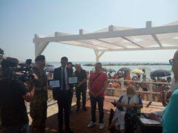 Regione in linea con associazioni tranesi per accesso al mare disabili