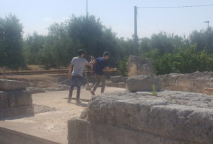 """Canosa – Primo ciak di """"Mordi e fuggi"""" nei siti archeologici"""